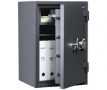 Комбинированный сейф 2 класса VALBERG ГРАНИТ 65TEL с кассовой ячейкой, с электронным замком PS 600 (класс взломостойкости - 2, огнестойкости - 60Б)