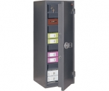 Комбинированный сейф VALBERG Кварцит 120TEL с трейзером, с электронным замком PS 300 (класс взломостойкости - 1, огнестойкости - 30Б)