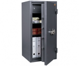 Комбинированный сейф 2 класса VALBERG ГРАНИТ 90TEL с кассовой ячейкой, с электронным замком PS 600 (класс взломостойкости - 2, огнестойкости - 30Б)