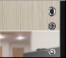 Дверь ТЕХНО (2066/880/104 R/L)