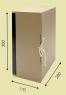 Архивный короб вертикальный на завязках (Арт.357)