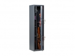 Оружейный сейф на 2 ствола AIKO ФИЛИН с трейзером, с двумя ключевыми замками BORDER