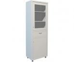 Медицинский шкаф Промет Hilfe MD 1 1760 R1, 2 двери с ключевыми замками, 4 полки