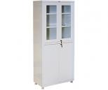 Медицинский шкаф Промет Hilfe MD 2 1780 R, 4 двери, 2 ключевых замка, 4 полки