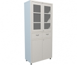 Медицинский шкаф Промет Hilfe MD 2 1780 R1, 4 двери, 2 ключевых замка, 4 полки