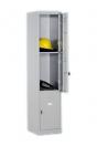 Металлический шкаф для вещей и одежды Локер LC 3, 3 ячейки