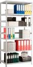 Стеллаж MS Standart 2550х1000х400, металлический, сборно-разборный, 5 полок