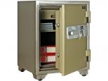 Огнестойкий сейф Booil TOPAZ BST-750 с кассовой ячейкой, с электронным и ключевым замками